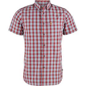 Fjällräven Övik Skjorte Herrer, deep red